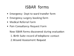 isbar presentation for senior staff ppt download