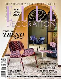 Home Decor Trends Over The Years The Next U0026 The Now 2016 Trends Issue Elle Decoration