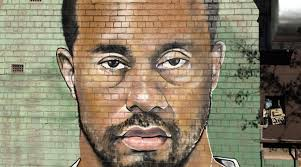 tiger woods mugshot mural surfaces in au golfmagic tiger woods mugshot has been painted onto a brick wall in melbourne australia by artist lushsux
