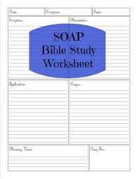 soap bible study worksheet by kingdomhomemakers on etsy bible