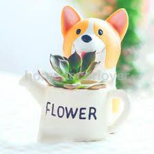 aliexpress com buy cute dog design resin pot planter for garden