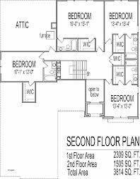 4 bedroom house plans 1 story house plan inspirational two storey house plans with 4 bedrooms
