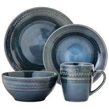 kingsland 16pc dinnerware set blue threshold target