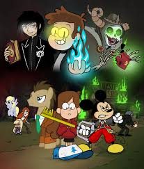 gravity falls the first gravity falls crisis by crydius on deviantart