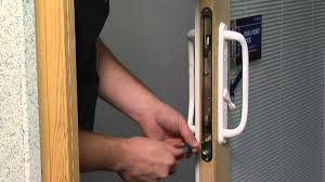 Sliding Glass Door Handles With Locks How To Adjust The Dual Point Latch On A Premium Wood Sliding Patio
