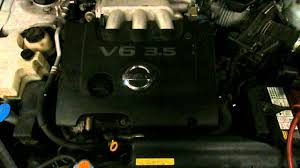 nissan maxima idle relearn wrecking 2005 nissan maxima j31 3 5 vq35de v6 dohc j14213 youtube