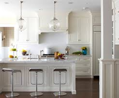 Hanging Lights Over Kitchen Island Kitchen Contrasring Kitchen Island Wooden Varnished Kitchen