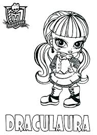 monster high coloring pages baby abbey bominable monster high coloring pages baby draculaura printable coloring