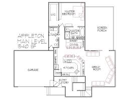 1500 square floor plans 3 bedroom 3 bath split level architect designed home plans sioux