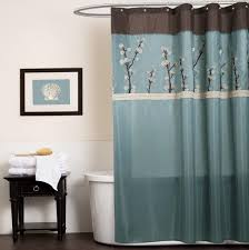 Blue Curtains Brown And Blue Curtains Panels Home Design Ideas