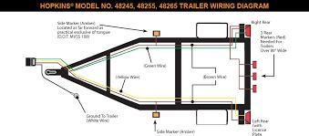 hoppy trailer wiring diagram u0026 amazon com hopkins 40915 plug in