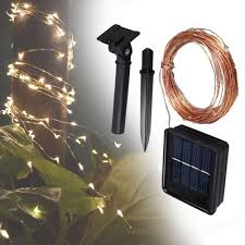 Solar White Christmas Lights by Popular Solar Powered White Christmas Lights Buy Cheap Solar