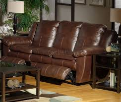 Brown Leather Reclining Sofa by Sable Top Grain Leather Sonoma Reclining Sofa Options
