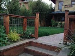 Fence Ideas For Small Backyard Backyards Trendy Great Creative Front Yard Fences With Fence