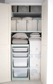 48 best organizing linens images on pinterest linen closet