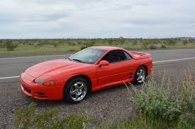 mitsubishi 90s sports car rare rides this 1995 mitsubishi 3000gt vr 4 can go