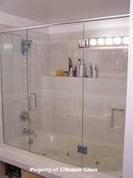 glass door on bathtub ultimate glass u0026 mirror inc specializing in custom glass work and