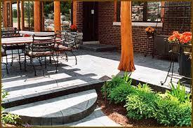 Concrete Decks And Patios Stamped Concrete Patio Rochester Mi 48307 Michigan Concrete