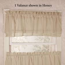 Gypsy Ruffled Shower Curtain Gypsy Sheer Voile Ruffled Tier Window Treatment