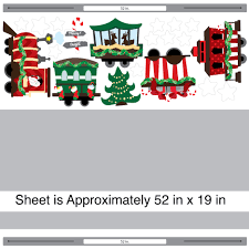 christmas train wall decal set by chromantics christmas train wall decal set layout by chromantics lightbox moreview