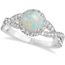 opal and engagement ring opal engagement rings polyvore