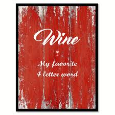 wine my favorite 4 letter word coffee wine saying quote typography