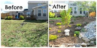 full image for chic landscaping ideas backyard on a budget photo