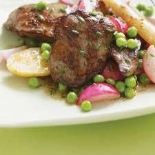 cuisiner foie de volaille foies de volaille aux radis aux petits pois et au xérès ricardo
