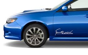 subaru logo jpg car styling for 2x sports mind produced by subaru racing decal