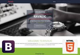 html5 website template free 70 free bootstrap html5 website templates 2018 freshdesignweb