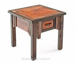 Wood End Tables End Tables Archives Woodland Creek Furniture