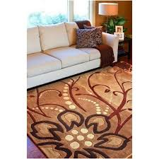 Large Contemporary Rugs Living Room Adorable Floral Pattern Rugs Ottoman Shape Square