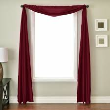 Solid Color Valances For Windows Best 25 Window Scarf Ideas On Pinterest Curtain Scarf Ideas