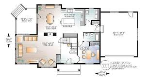 one floor plans with two master suites house plan w3816 v1 detail from drummondhouseplans com