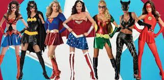 Superhero Halloween Costumes Teenage Girls Geek Chic 2 Flurt