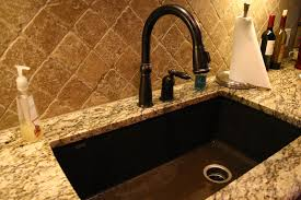 Brown Kitchen Sink Kitchen Sinks Granite Composite Granite Kitchen Sinks For Real