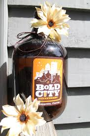 Home Decor Auction Diy Beer Growler Home Decor Turn An Old Beer Growler Into A Cute