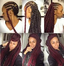 color 99j in marley hair pictures on ombre 1bgray color box braids hair synthetic hair