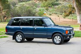 blue range rover interior spotted 1995 range rover classic lwb west county explorers club