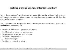 certified nursing assistant sample resume