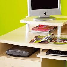 Pc Schreibtisch Pc Schreibtisch Amsterdam In Ahorn Dekor Wohnen De
