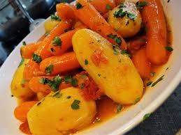 cuisiner des carottes pommes de terre et carottes épicées au micro minute la recette