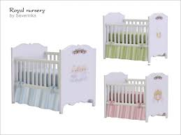 severinka u0027s royal nursery crib deco