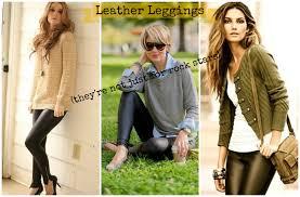 leather look leggings babycentre