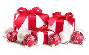 new year box wallpaper christmas new year gift box ribbon desktop wallpaper