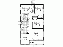 simple 3 bedroom house plans eplans prairie house plan simple yet adequate 996 square