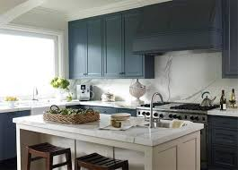 White And Blue Kitchen - 22 ideas for modern interior decorating with white and blue color
