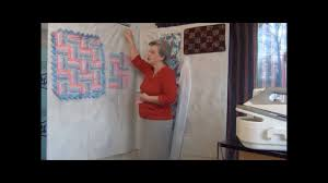 how to make a design wall for quilting youtube