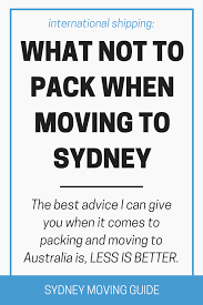 Packing And Moving by What Not To Pack When Moving To Sydney Sydney Moving Guide