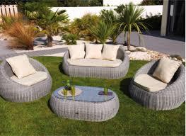 canape jardin resine salon et mobilier de jardin la solution pour vivre dehors